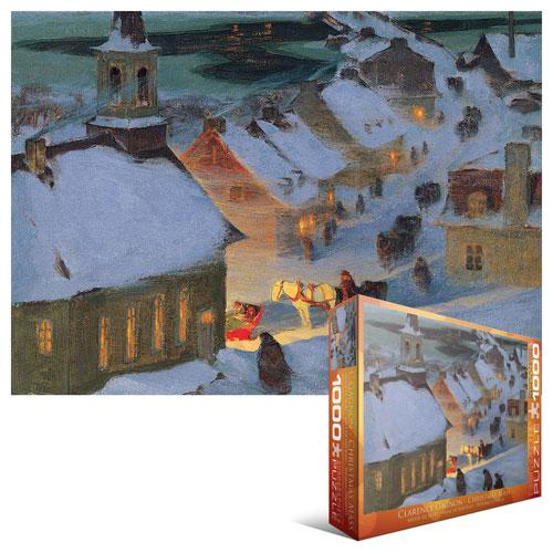 Christmas Mass Christmas Jigsaw Puzzle