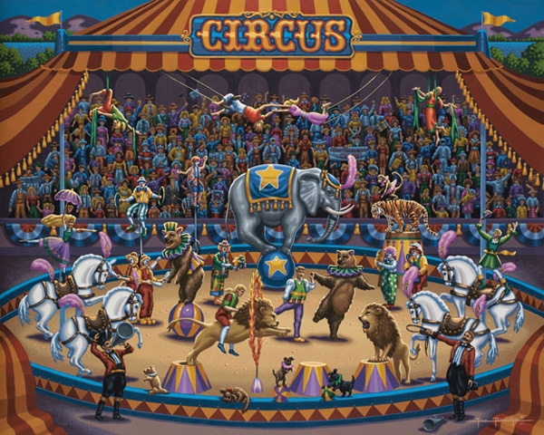 Circus Stars Carnival Jigsaw Puzzle