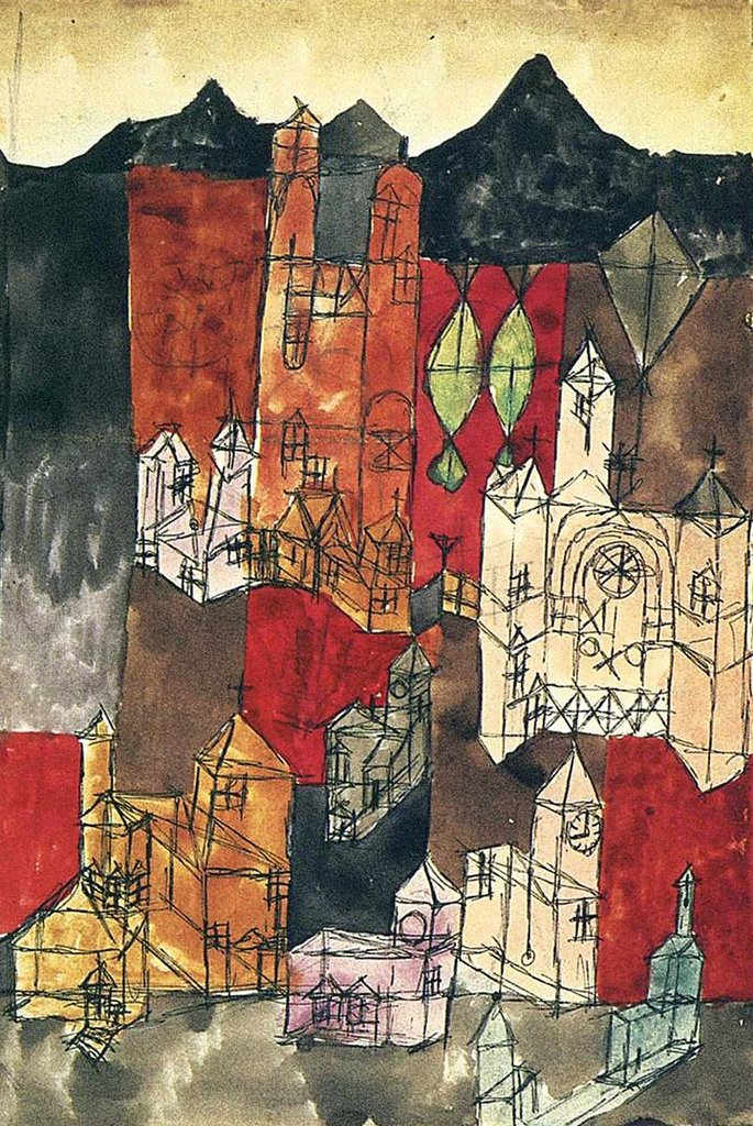 City of Churches by Paul Klee Fine Art