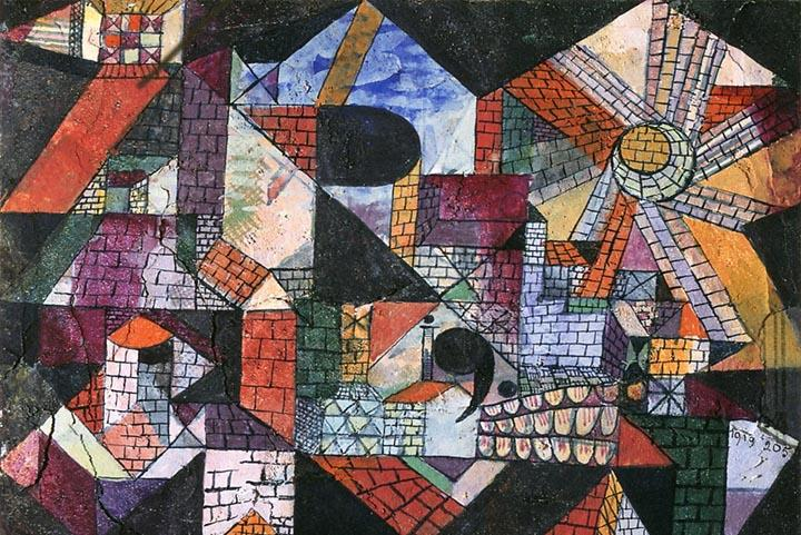 City of R by Paul Klee Fine Art