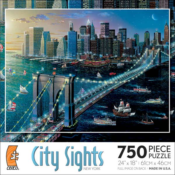 City Sights - New York Cities Jigsaw Puzzle