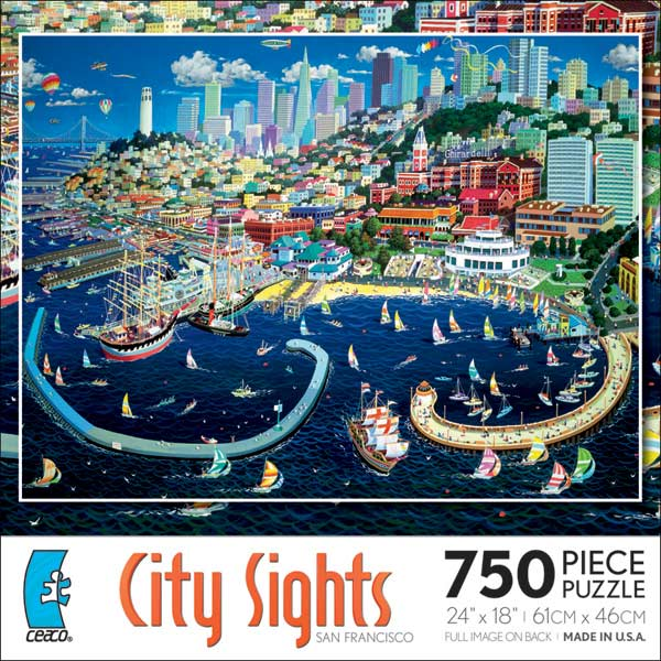 City Sights - San Francisco Cities Jigsaw Puzzle