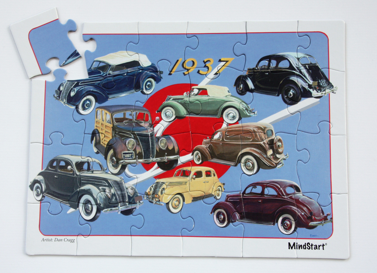 Classic Car (24pc) Cars Jigsaw Puzzle