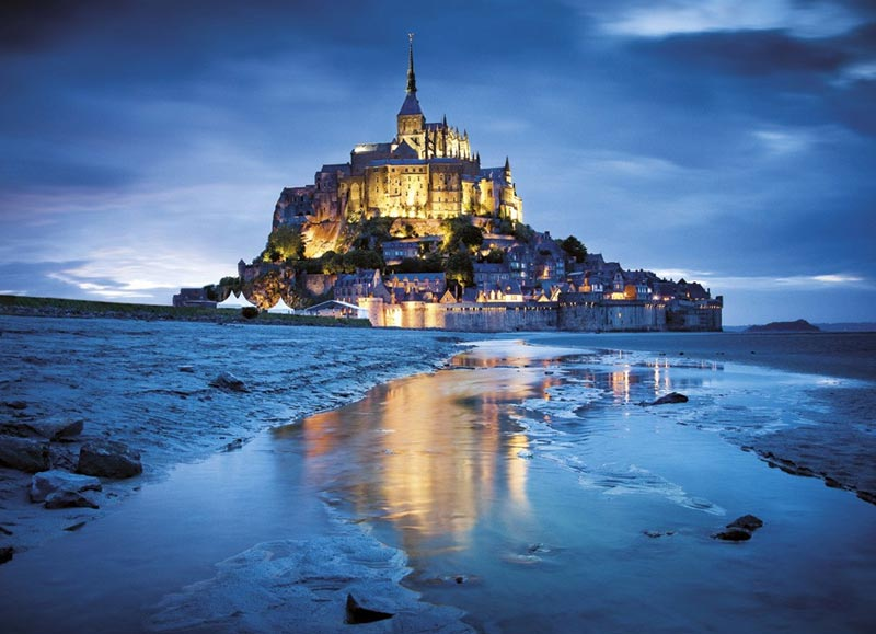 Le Mont Saint-Michel - Scratch and Dent Travel Jigsaw Puzzle
