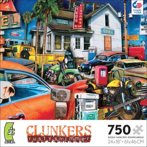 Clunkers - Absolute Americana II Cars Glitter/Shimmer/Foil