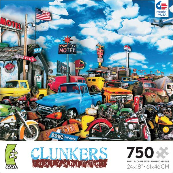 Clunkers - Going to Kansas City Cars Glitter/Shimmer/Foil