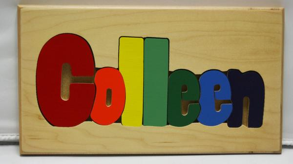 Colleen Wooden Name Puzzle