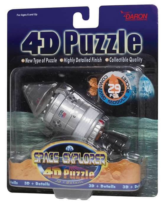 4D Puzzle - Command Module Space 3D Puzzle