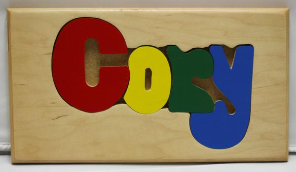 Cory Wooden Name Puzzle