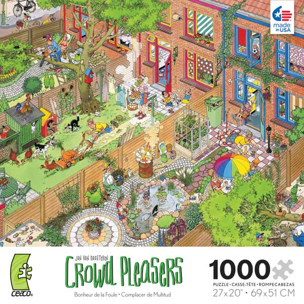 Crowd Pleasers - The Neighbors Cartoons Jigsaw Puzzle