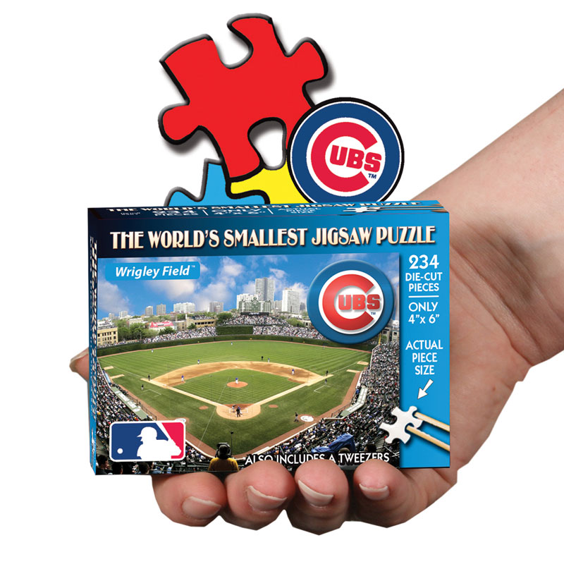 World's Smallest Puzzles MLB - Chicago Cubs Chicago Jigsaw Puzzle