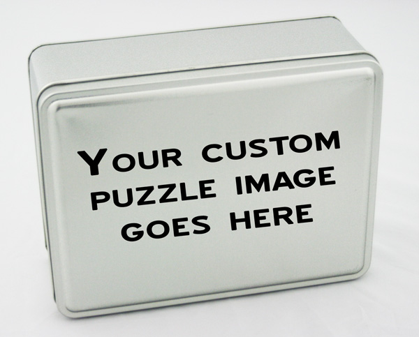 Custom Puzzle Tin Custom Collectible Packaging