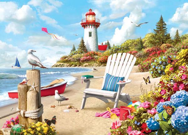 Day Dream Beach Jigsaw Puzzle