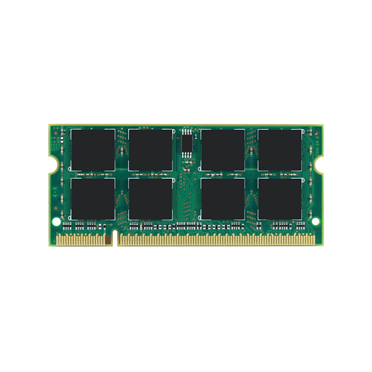 1GB DDR2-400 PC2-3200 Non-ECC Unbuffered 200 Pin 1.8V CL=3 Memory 64X8