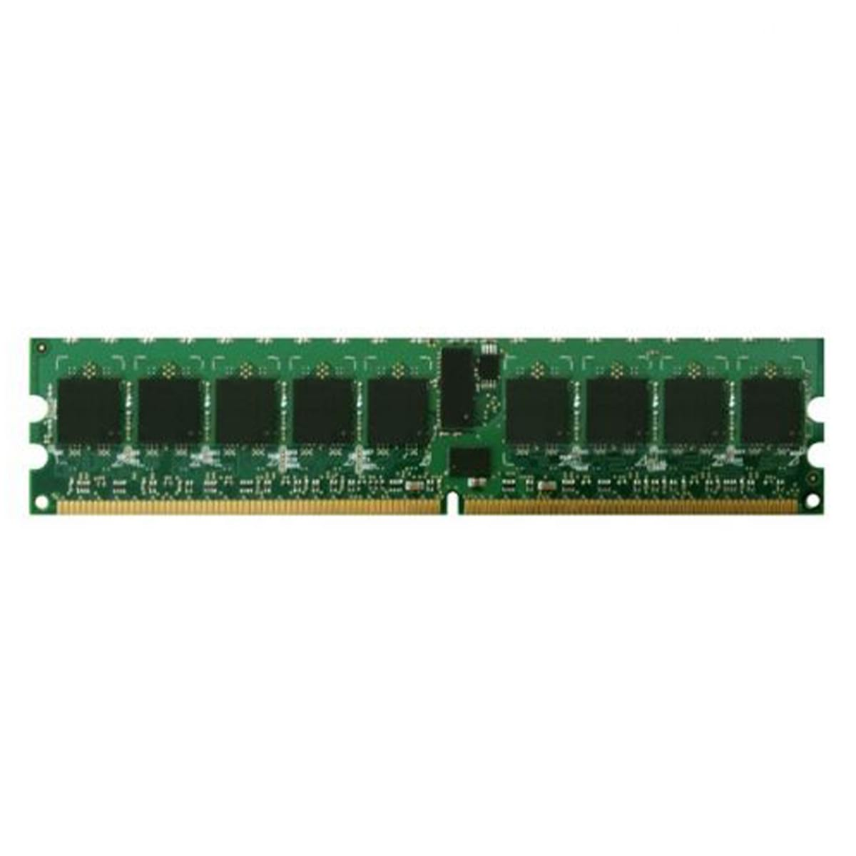 1GB DDR2-400 PC2-3200 ECC Registered 240 Pin 1.8V CL=3 Rank 1 Memory 128X4