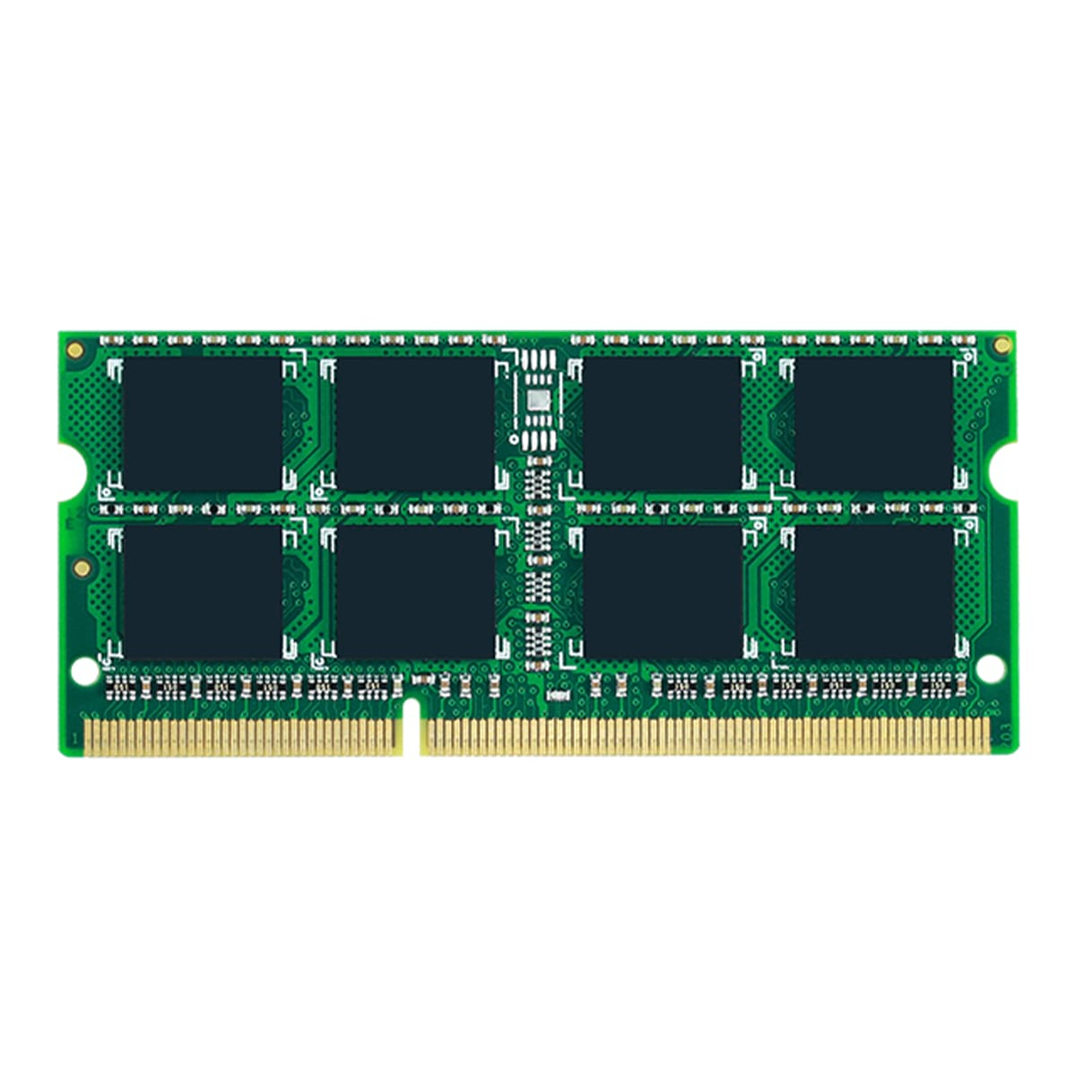 4GB DDR3-1600 PC3-12800 Non-ECC Unbuffered 204 Pin 1.35V CL=11 Memory 16 chip