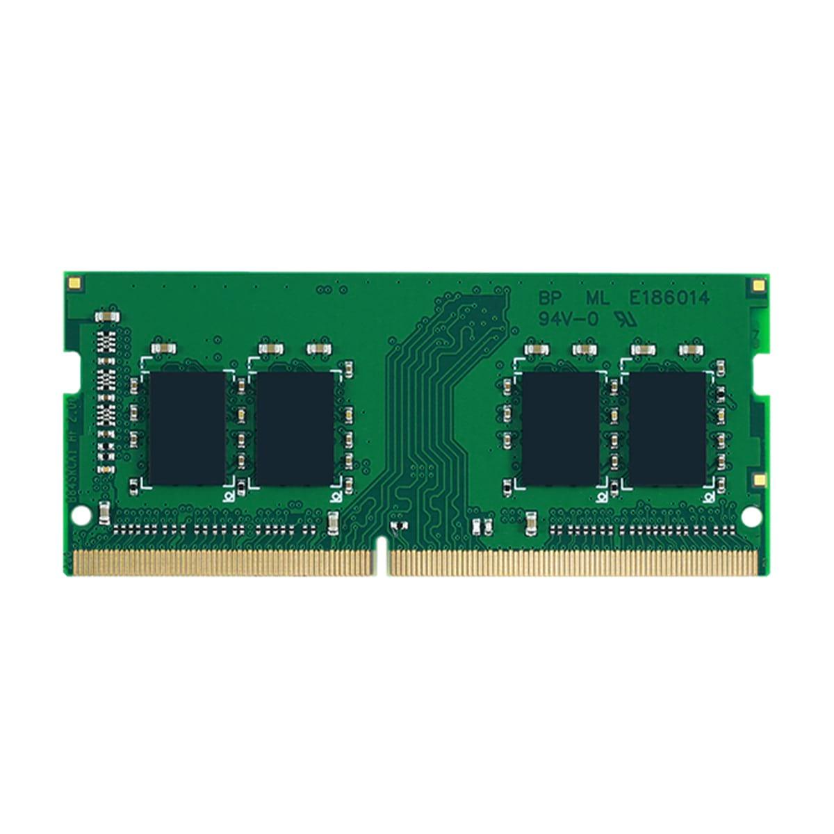8GB DDR4-2666 PC4-21300 ECC Unbuffered 260 Pin 1.2V  CL19 Memory