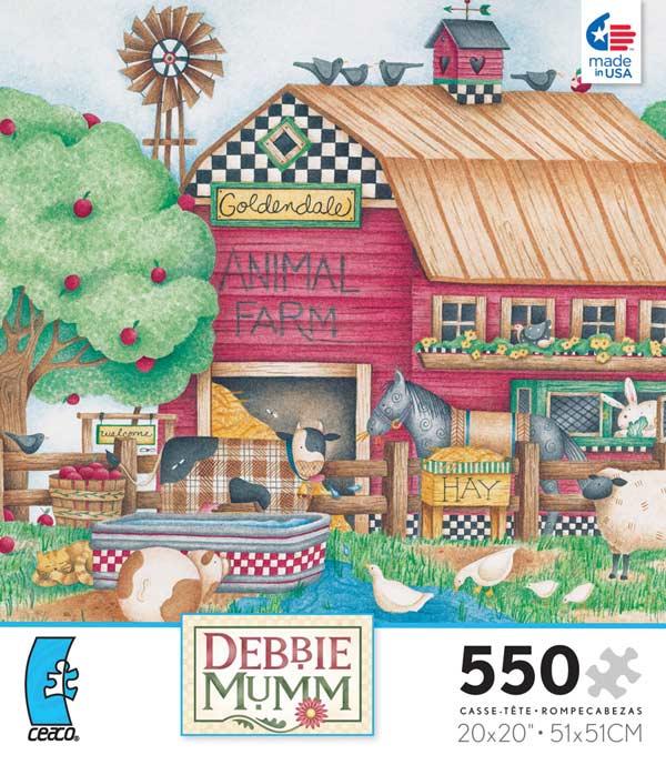 Debbie Mumm - Goldendale Farm Americana Jigsaw Puzzle