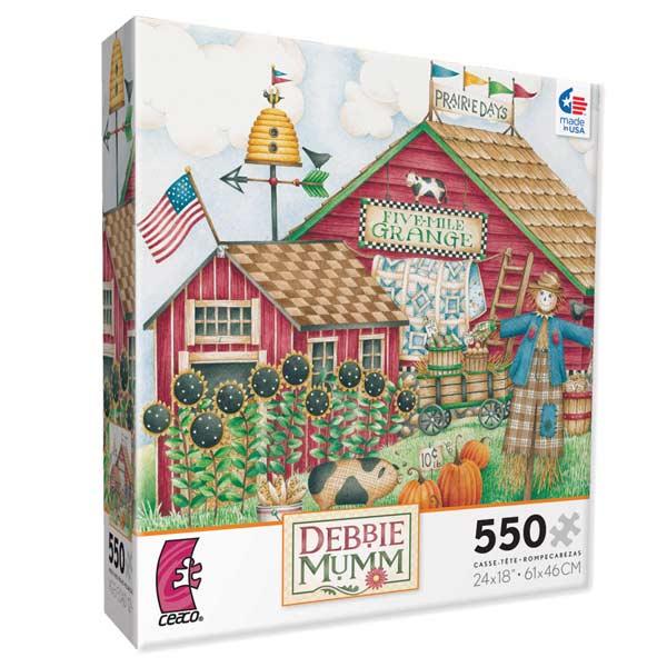 Debbie Mumm - Prairie Days Americana Jigsaw Puzzle