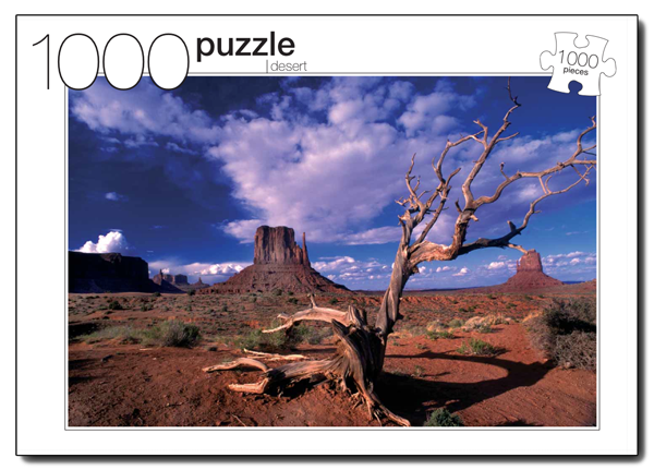 Desert Photography Jigsaw Puzzle