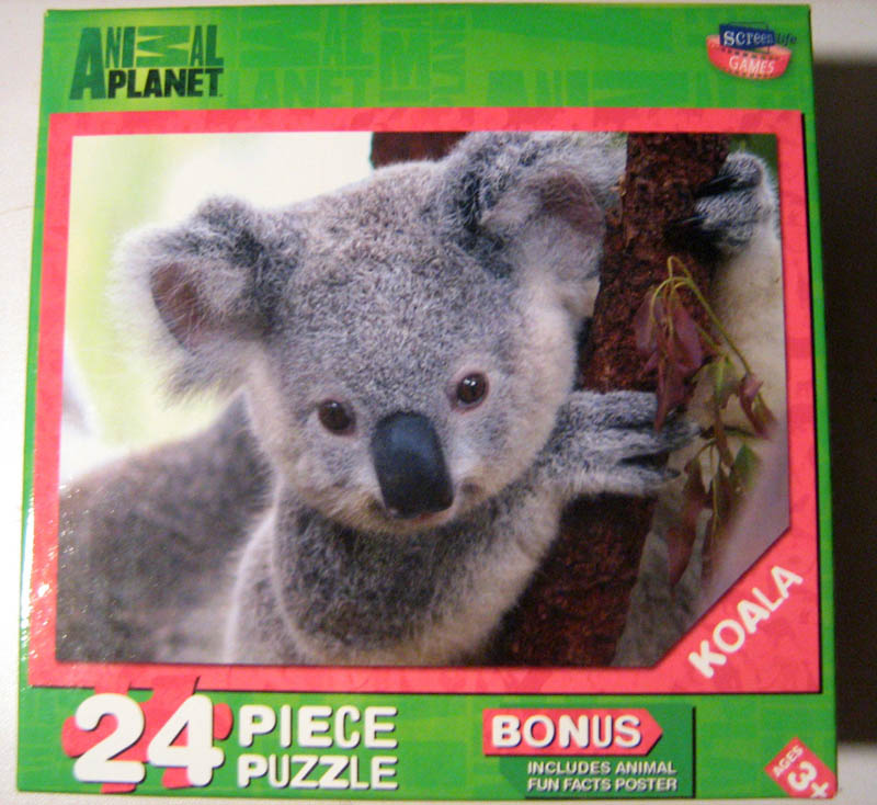Animal Planet - Koala Bears Jigsaw Puzzle