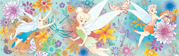 Disney Panorama - Fairies Disney Jigsaw Puzzle