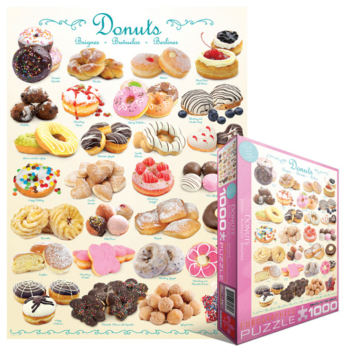 Donuts - Scratch and Dent Food and Drink Jigsaw Puzzle