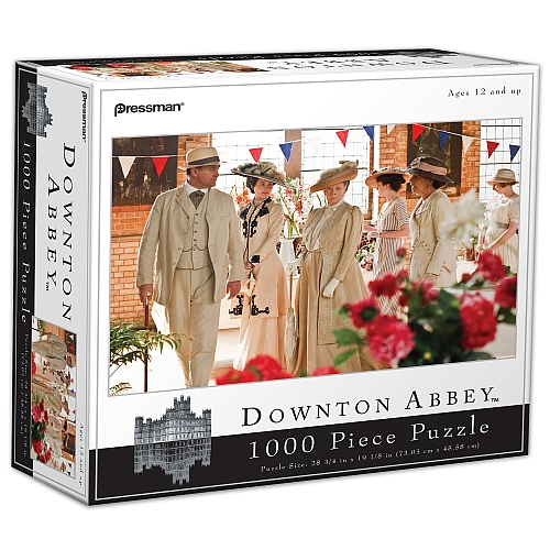 Downton Abbey - Village Flower Show Famous People Jigsaw Puzzle