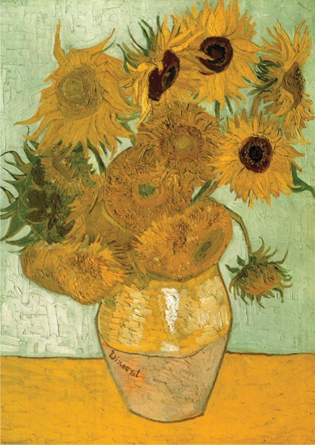 Sunflowers Flowers Jigsaw Puzzle