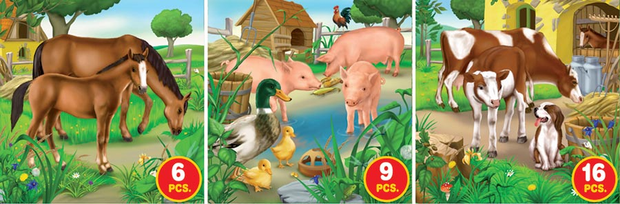 Farm Life - Series 2 Birds Jigsaw Puzzle
