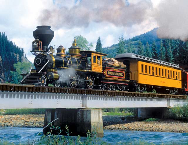 Puzzles to Remember - Durango Express Trains Jigsaw Puzzle