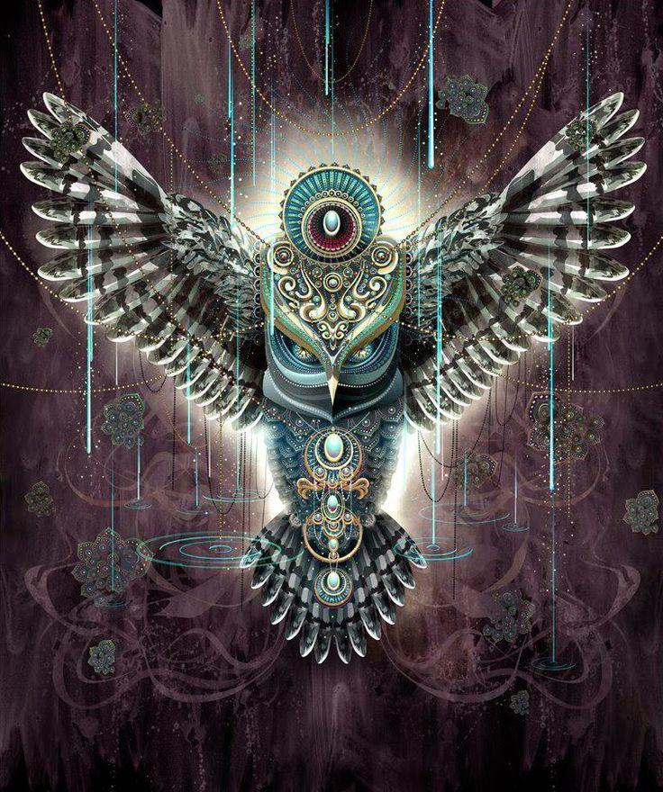 Wise Owl Birds Jigsaw Puzzle