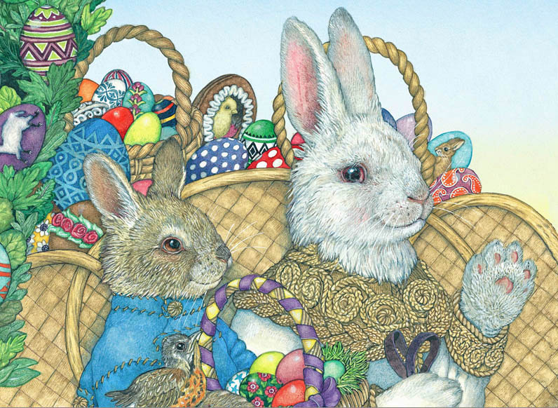 The Easter Egg Easter Jigsaw Puzzle