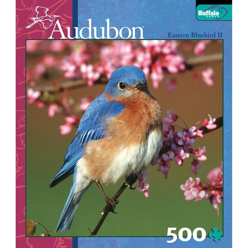 Eastern Bluebird II Jigsaw Puzzle