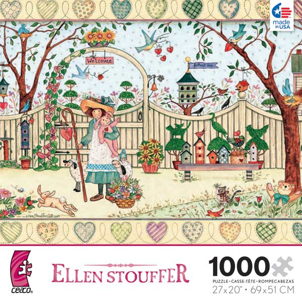 Ellen Stouffer - My Friends Birds Jigsaw Puzzle