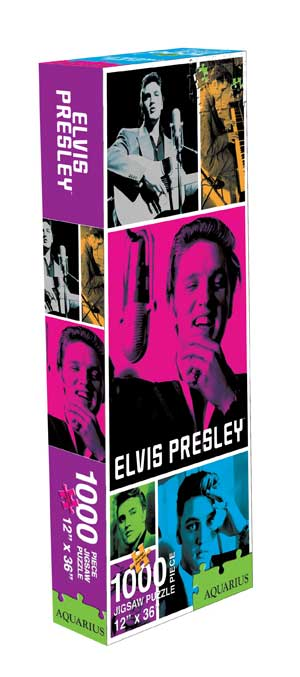 Elvis Slim - The King Famous People Jigsaw Puzzle