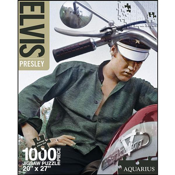 Elvis - Bike Famous People Jigsaw Puzzle