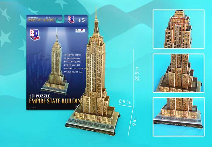 Empire State Building - Scratch and Dent Landmarks / Monuments Jigsaw Puzzle