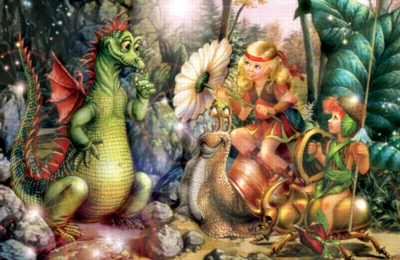 Enchanted Company Dragons Jigsaw Puzzle