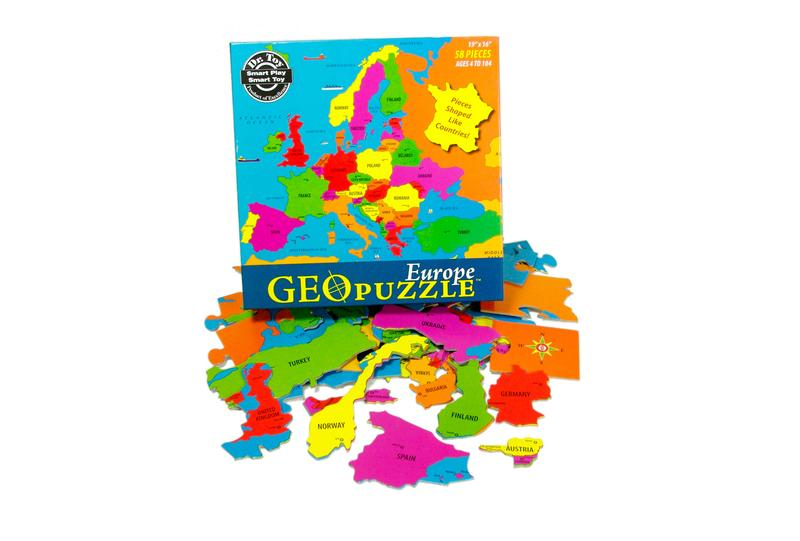 Europe Maps / Geography Jigsaw Puzzle