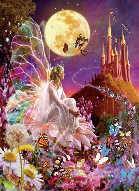 Fairy Dreams Fairies Jigsaw Puzzle