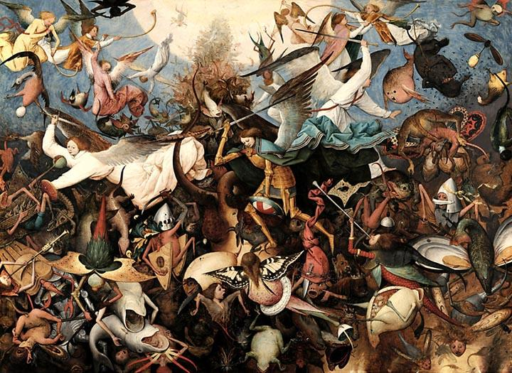 The Fall of the Rebel Angels by Pieter Bruegel The Elder Fine Art