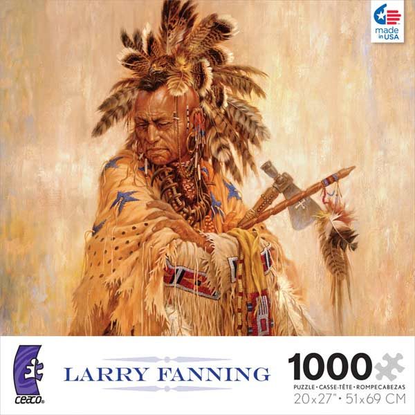 Larry Fanning - War Shirt of the Morning Star Native American Jigsaw Puzzle