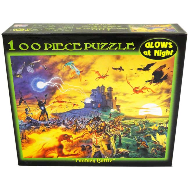 Fantasy Battle Fantasy Glow in the Dark Puzzle