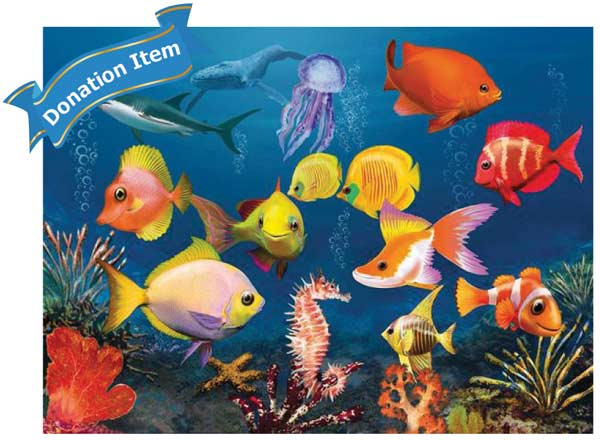 Life Skills - Fascinating Underwater World 3D Fish 3D Puzzle