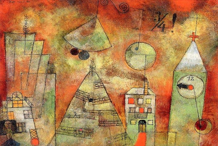 Fateful Hour at Quarter to Twelve by Paul Klee Fine Art