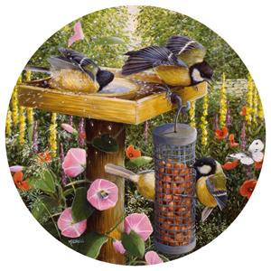 Feeding Time by Barbara Mitchell Birds Jigsaw Puzzle
