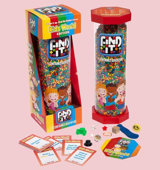Find It - Kids World - Scratch and Dent