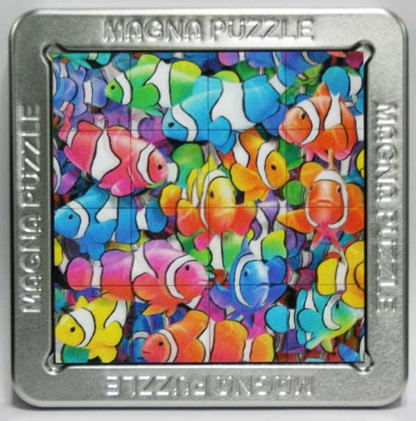 3D Magna Puzzle - Clown Fish Fish Lenticular Puzzle