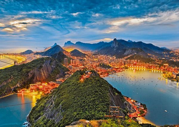 Guanabara Bay, Rio de Janeiro Landscape Jigsaw Puzzle